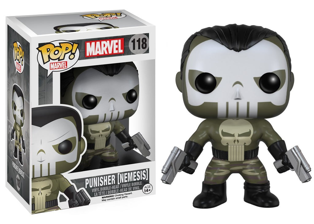 Marvel Nemesis Punisher Pop! Vinyl Figure - Funko - Woozy Moo