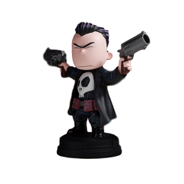 Marvel Animated Statue - Punisher - Gentle Giant Skottie Young