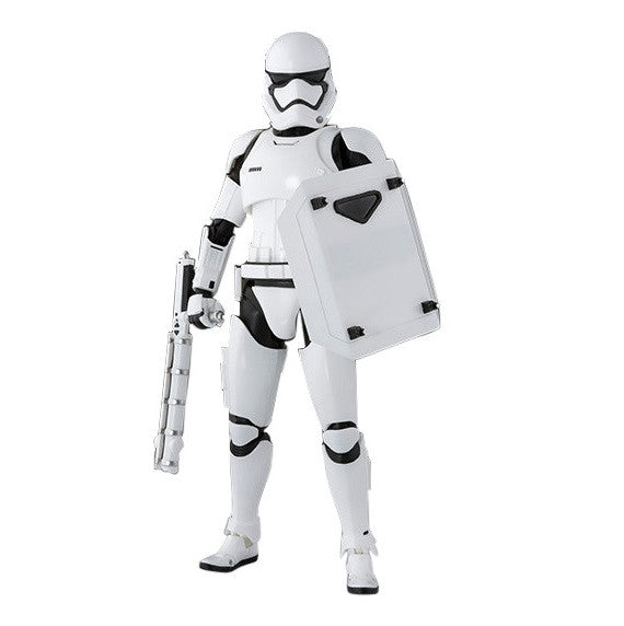 Star Wars: The Force Awakens S.H. Figuarts First Order Riot Control Stormtrooper - Bandai - Woozy Moo - 1