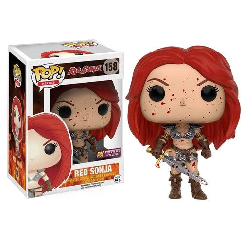Red Sonja Bloody Pop! Vinyl Figure - Exclusive - Funko - Woozy Moo