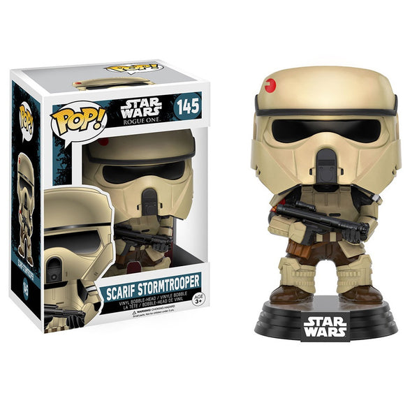 Star Wars Rogue One - Scarif Stormtrooper Pop! Vinyl Figure - Funko - Woozy Moo