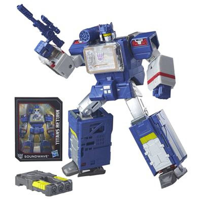 Transformers Titans Return Leader Class - Soundwave and Soundblaster - Hasbro - Woozy Moo - 1
