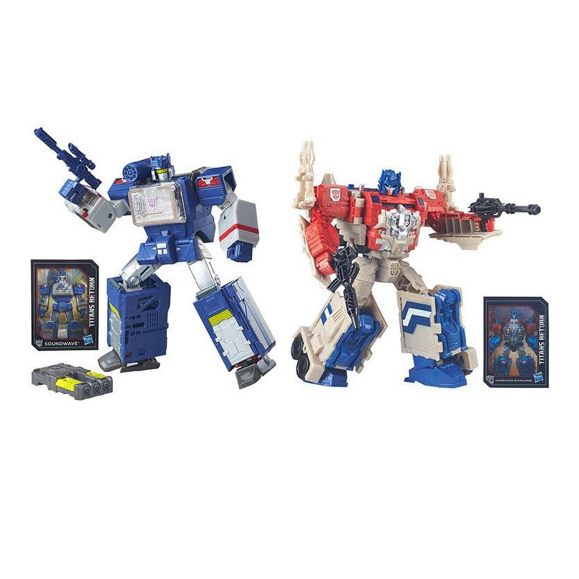 Transformers Titans Return Leader Class - Wave 2 Revision Set - Hasbro - Woozy Moo - 1