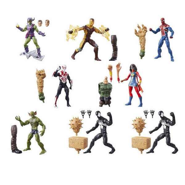 Marvel Legends Spider-Man Figures Wave 7 - Set of 8 - Hasbro - Woozy Moo - 1