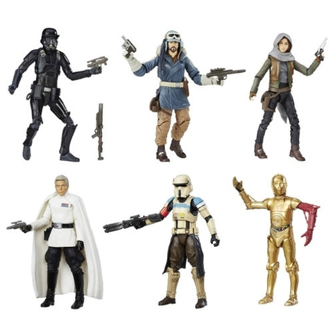 Star Wars Rogue One - Black Series 6'' Wave 8 Case
