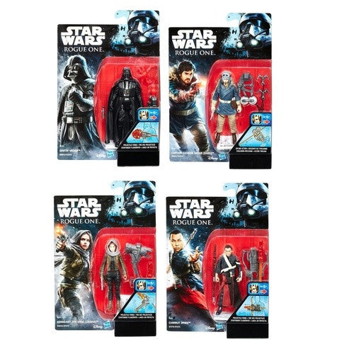 Star Wars Rogue One Build-A-Weapon Wave 2 - 3.75'' - Set of 4