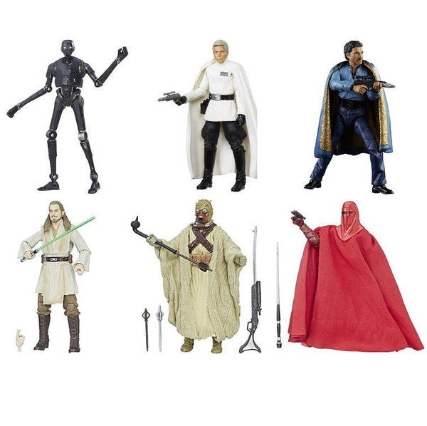 "Star Wars Black Series 6"" Wave 11 Case of 6 (2017 Wave 1) (Non-Mint)"