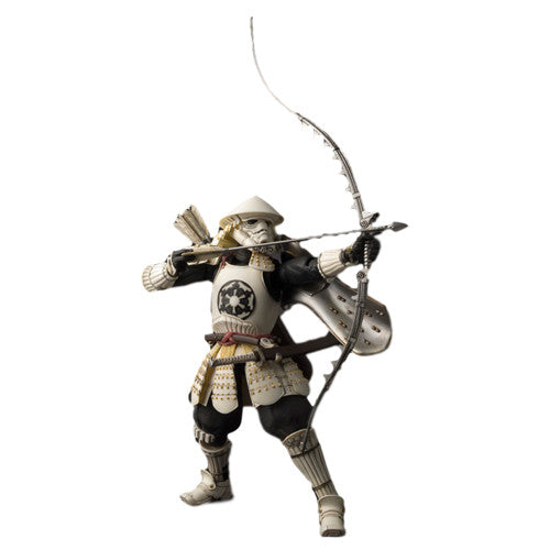 Star Wars Movie Realization - Yumi Ashigaru Stormtrooper Figure - Bandai - Woozy Moo - 1