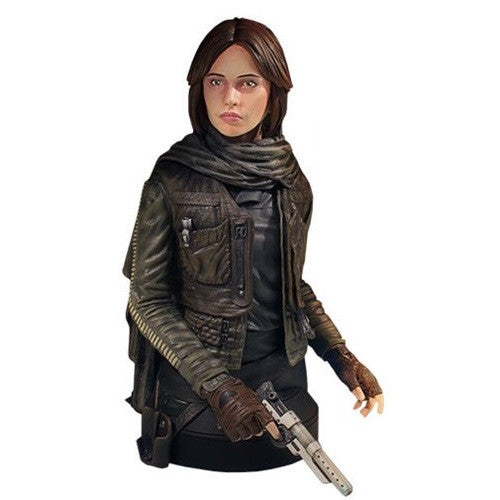 Star Wars Rogue One - Jyn Erso Mini Bust - Gentle Giant - Woozy Moo