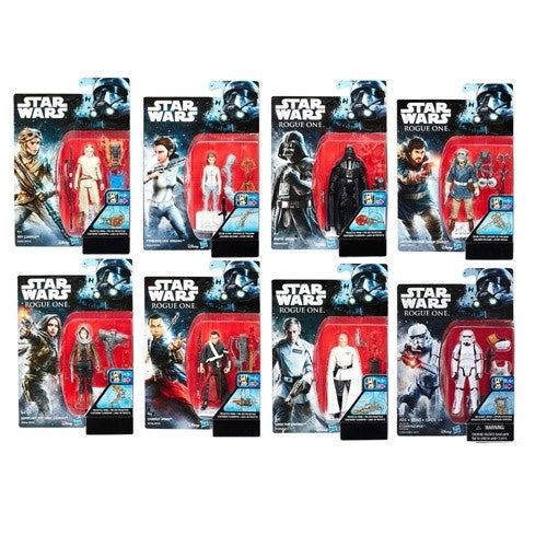 Star Wars Rogue One Build-A-Weapon Wave 2 - 3.75'' - Set of 8 - Hasbro - Woozy Moo