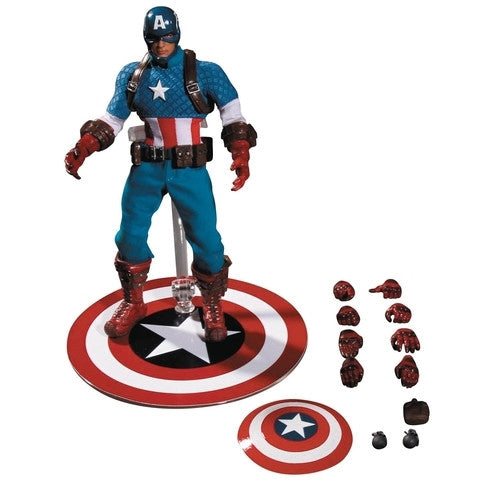Captain America - Marvel  - One:12 Collective - Mezco - Woozy Moo - 1