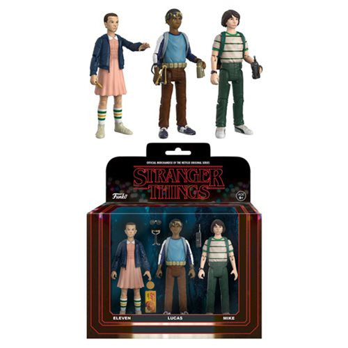 Stranger Things Action Figures 3-Pack Set 1 | Funko | Woozy Moo