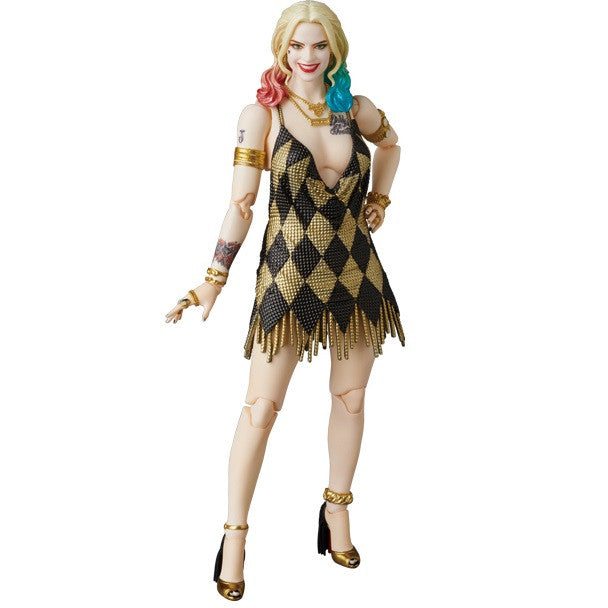 Harley Quinn (Margot Robbie) Dress Version | Suicide Squad (DC Film) | MAFEX No. 042 (Miracle Action Figure) | Medicom | Woozy Moo