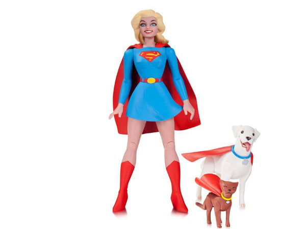DC Comics Designer Series Supergirl Action Figure by Darwyn Cooke - DC Collectibles - Woozy Moo
