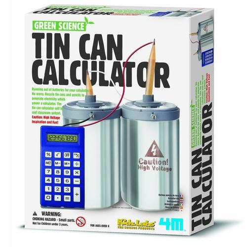 Tin Can Calculator - 4M - Woozy Moo - 1