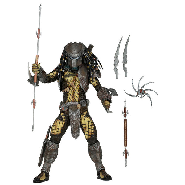 "Alien vs. Predator: Predators 7"" Figure Series 15 - Temple Guard - NECA - Woozy Moo - 1"