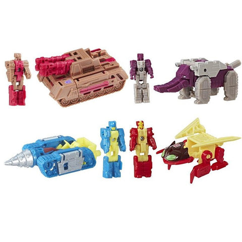 Transformers Generations Titans Return Titan Masters - Wave 4 Set of 4