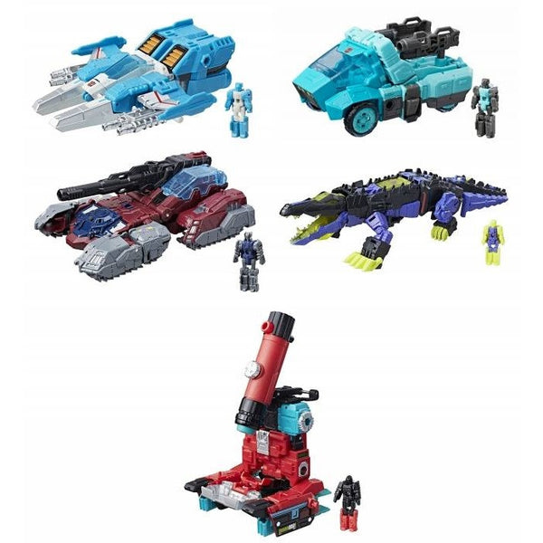 Transformers Generations Titans Return Deluxe Class - Wave 4 Set of 5