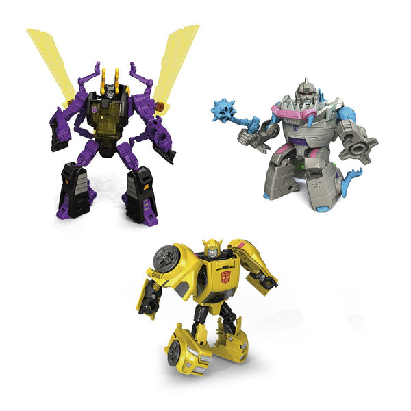 Transformers Titans Return Legends Class - Wave 3 Set of 3 - Hasbro - Woozy Moo - 1
