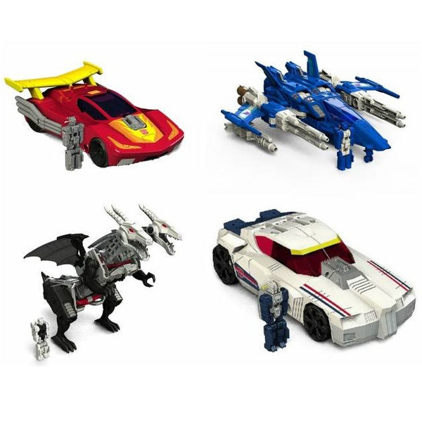 Transformers Titans Return Deluxe Class - Wave 3 Set of 4 - Hasbro - Woozy Moo - 1