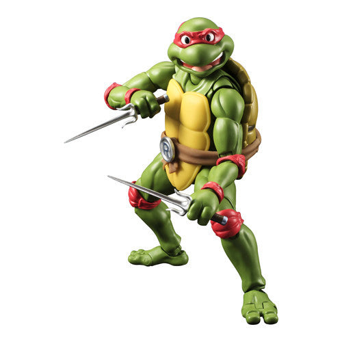 Teenage Mutant Ninja Turtles S.H. Figuarts - Raphael - Bandai - Woozy Moo - 1