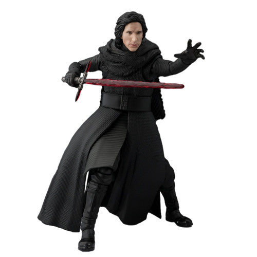 Star Wars: Episode VII – The Force Awakens – Kylo Ren Unmasked - S.H.Figuarts Exclusive - Bandai - Woozy Moo - 1