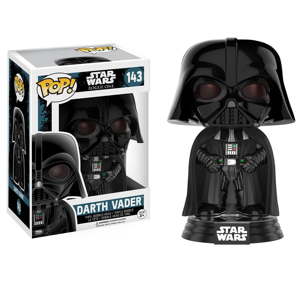 Star Wars Rogue One - Darth Vader Pop! Vinyl Figure - Funko - Woozy Moo