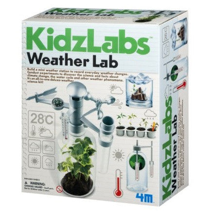 Weather Lab Science Kit - 4M - Woozy Moo - 1