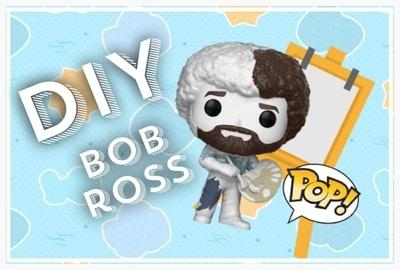 Bob Ross (Do-It-Yourself) - The Joy of Painting - POP! Televsion Vinyl Figure 524 - Exclusive
