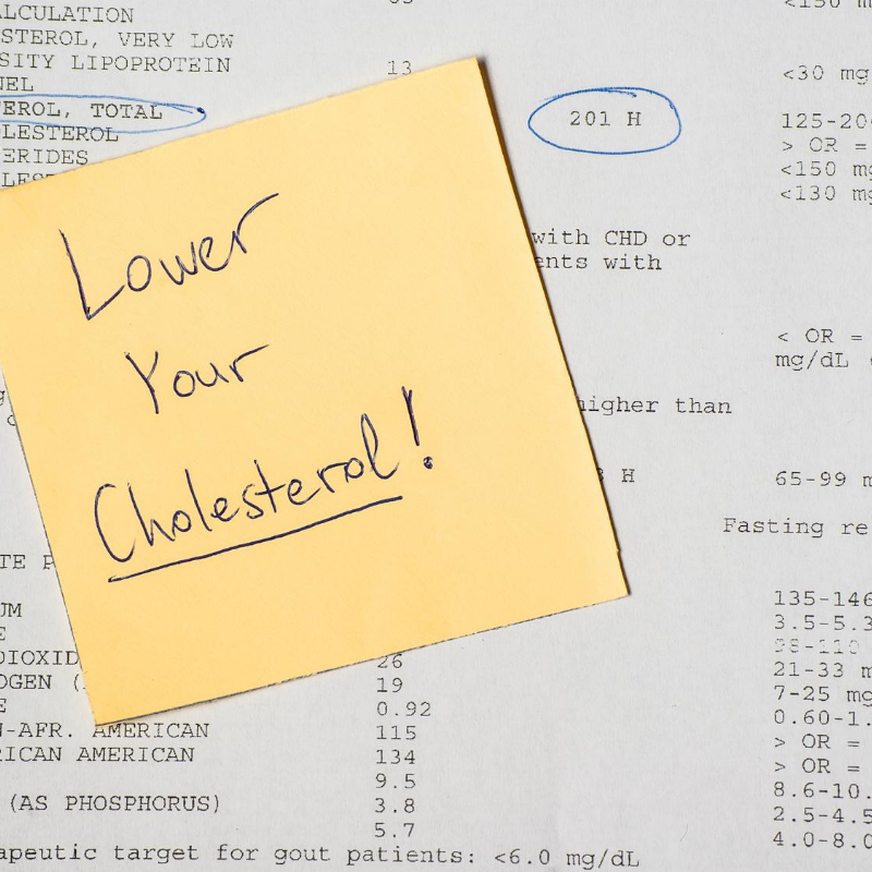 "Do you have ""High Cholesterol Concerns""?"