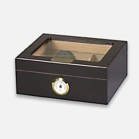 Capri Glass Top Humidor 50-Count
