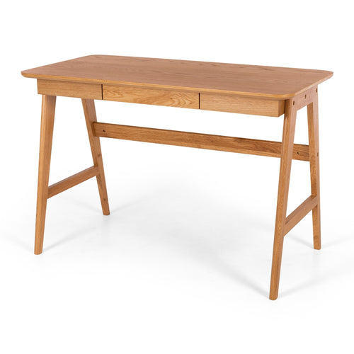 Radius Desk - Oak