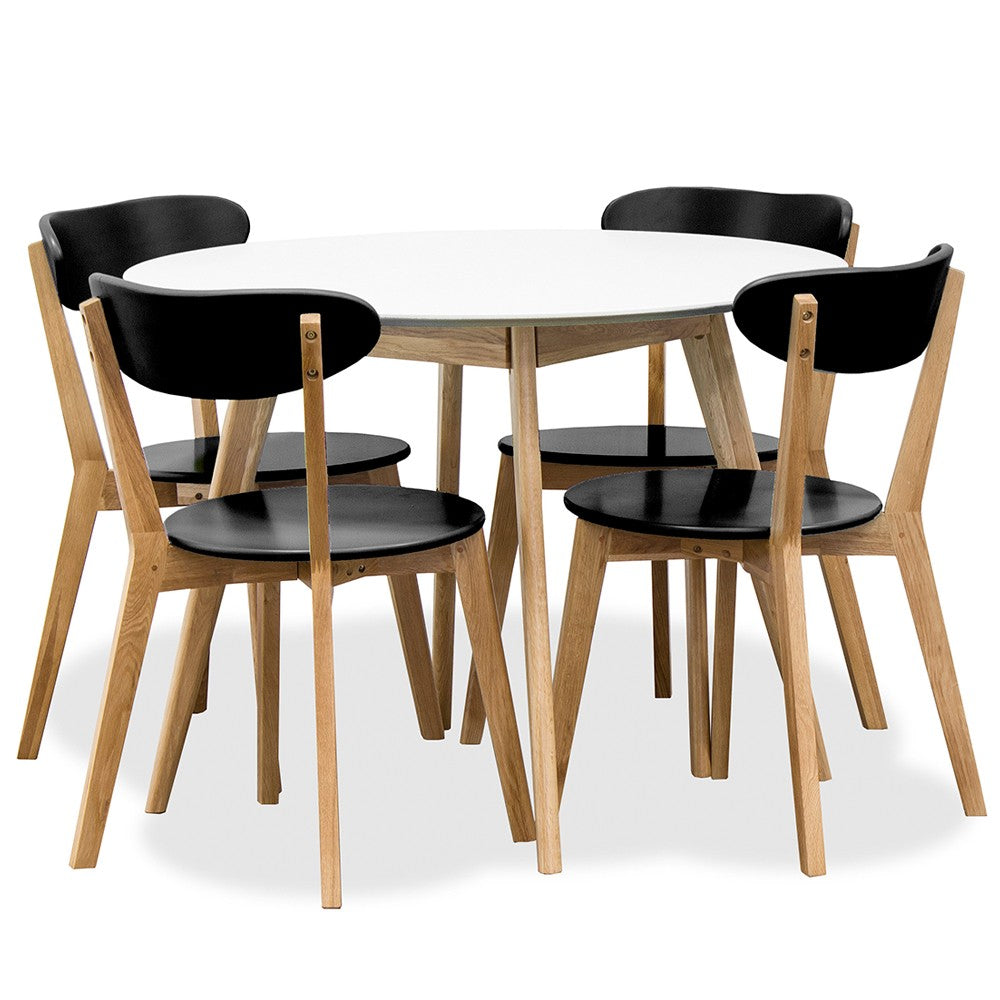 Radius Round Dining Table 1000mm - Furniture and Homewares Upper Hutt