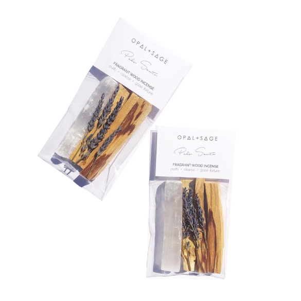 Palo Santo - Fragrant Wood Incense Kit