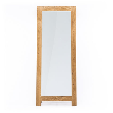 Norway Oak Standing Mirror *PREORDER*