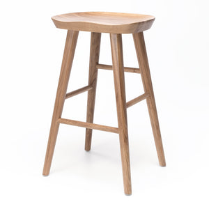 Fuji Barstool - Natural Oak - Furniture and Homewares Upper Hutt