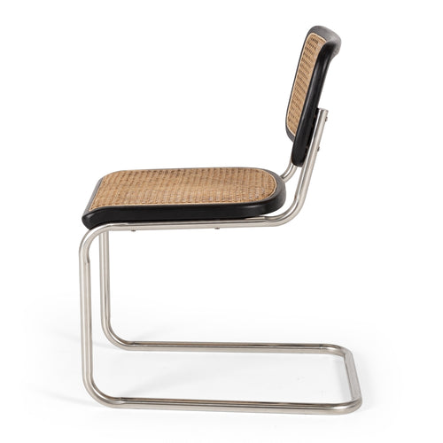 Breuer Dining Chair - Black Oak
