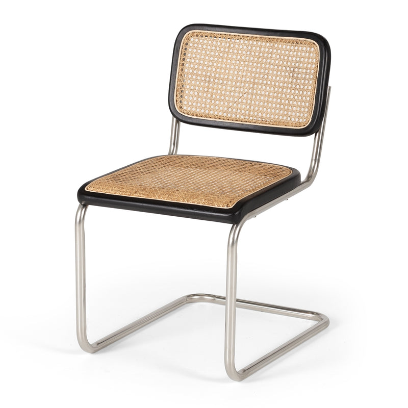 Breuer Desk Chair - Black Oak