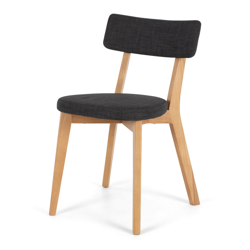 Nils Dining Chair - Dark Grey