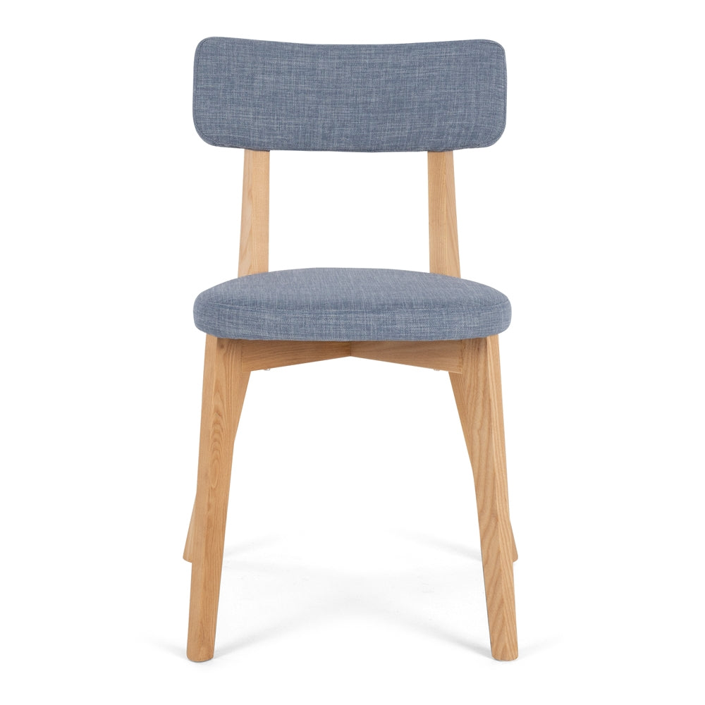 Nils Dining Chair - Fjord Blue