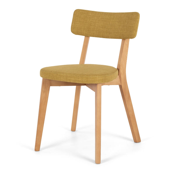 Prego Chair Jellewed Yellow - Furniture and Homewares Upper Hutt