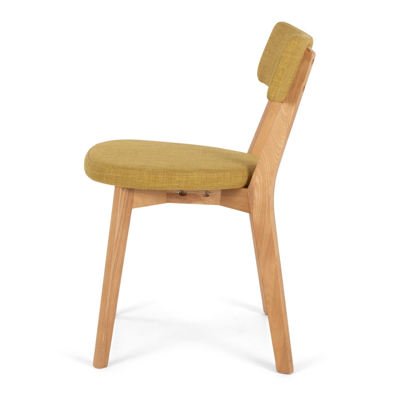 Nils Dining Chair - Jeweled Yellow