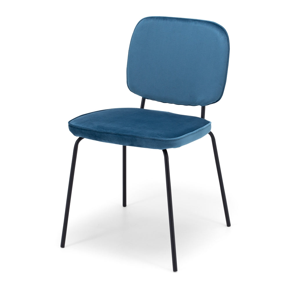 Benny Dining Chair - Ocean Blue