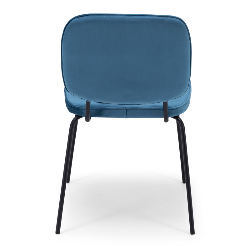 Clyde Dining Chair - Ocean Blue