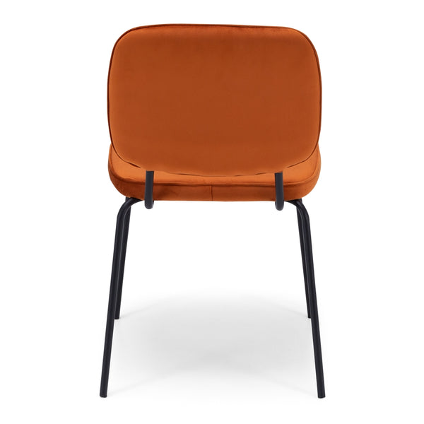 Clyde Velvet Dining Chair - 6 Colours *PREORDER* - Furniture and Homewares Upper Hutt