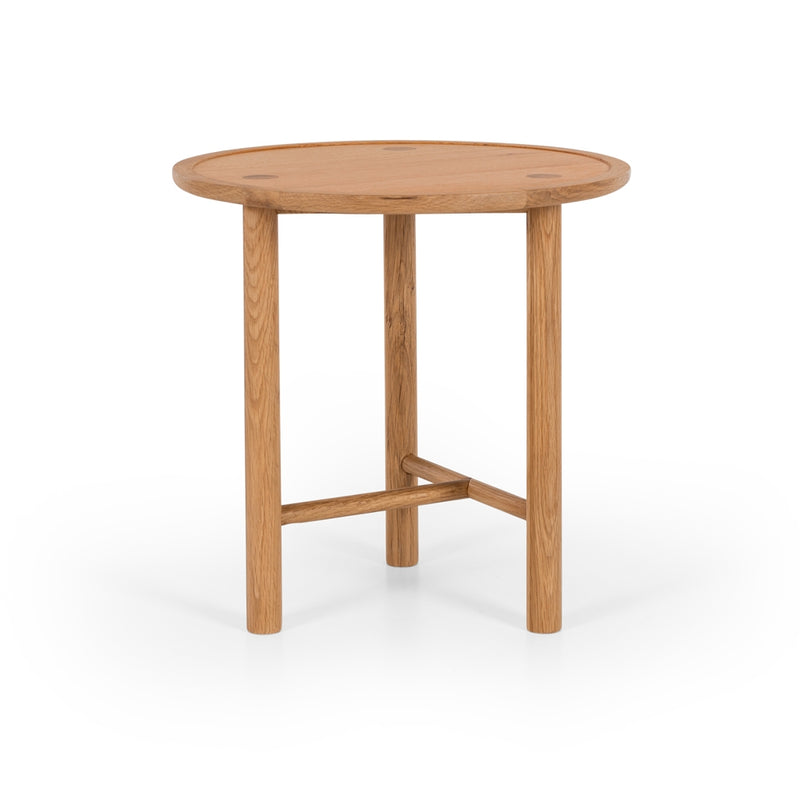 Contempo Side Table - Oak