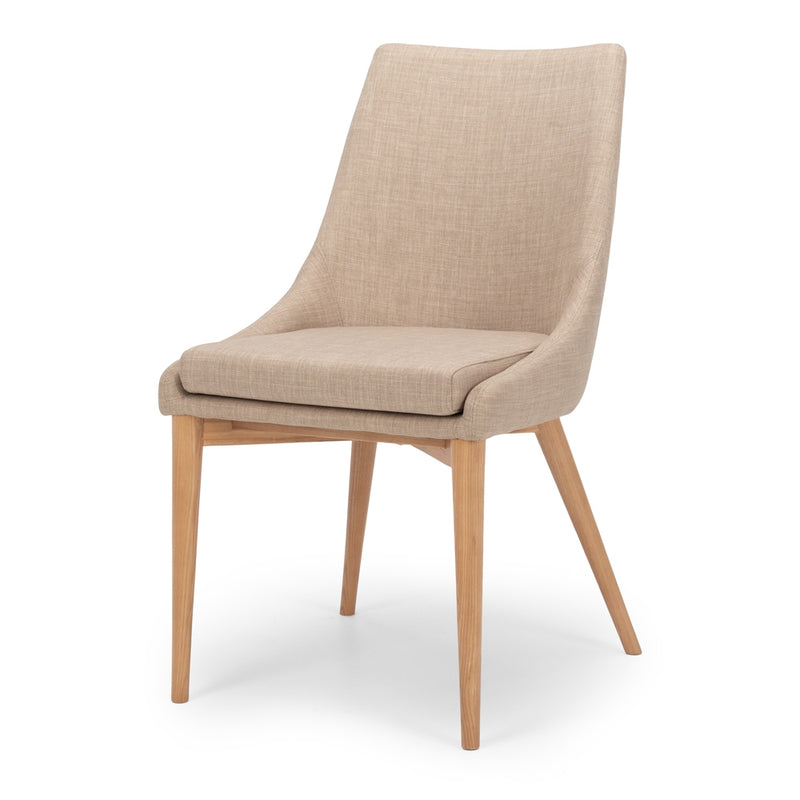 Eva Dining Chair - Beige - Furniture and Homewares Upper Hutt