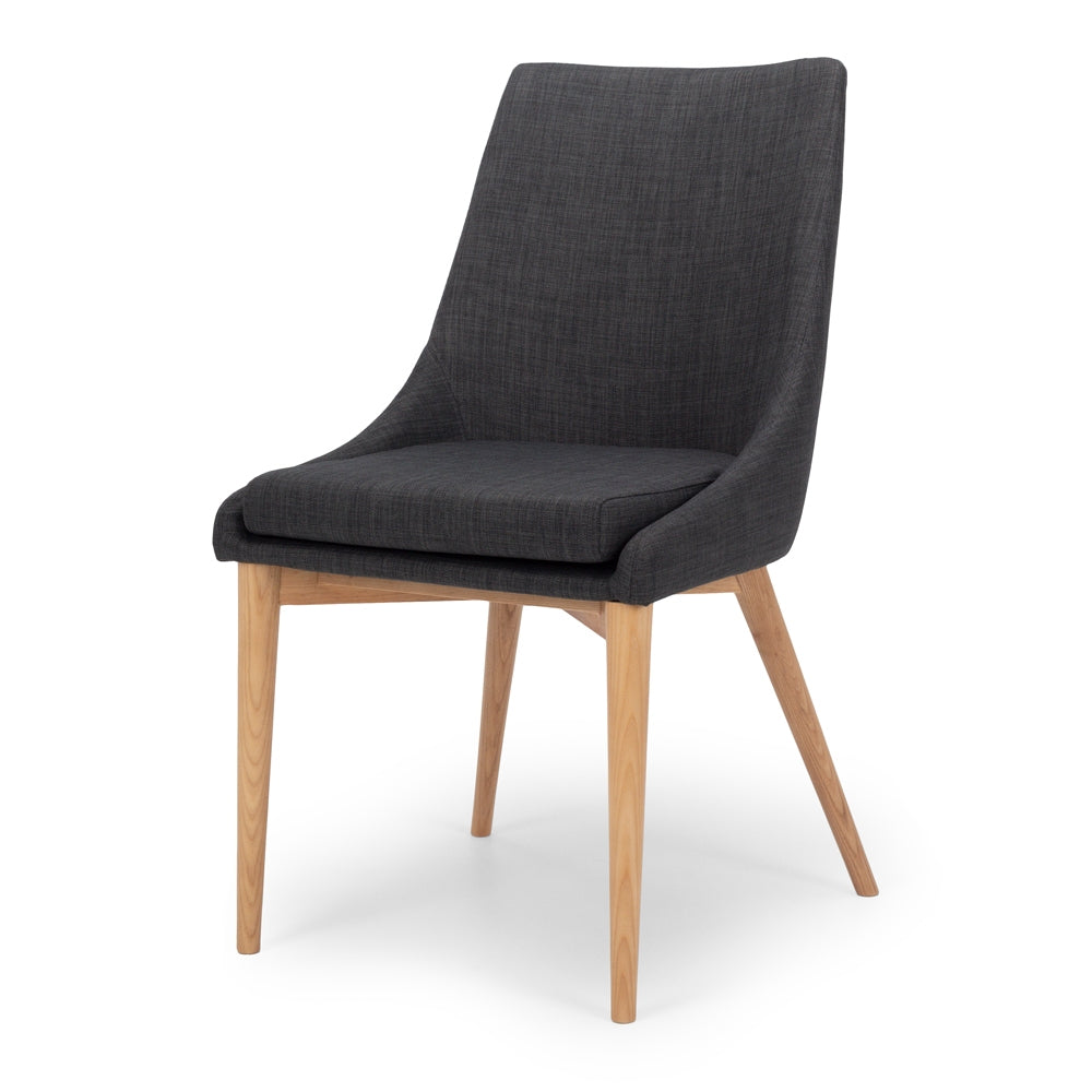 Eva Dining Chair - Dark Grey - Furniture and Homewares Upper Hutt