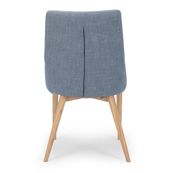 Eva Dining Chair - Fjord Blue - Furniture and Homewares Upper Hutt
