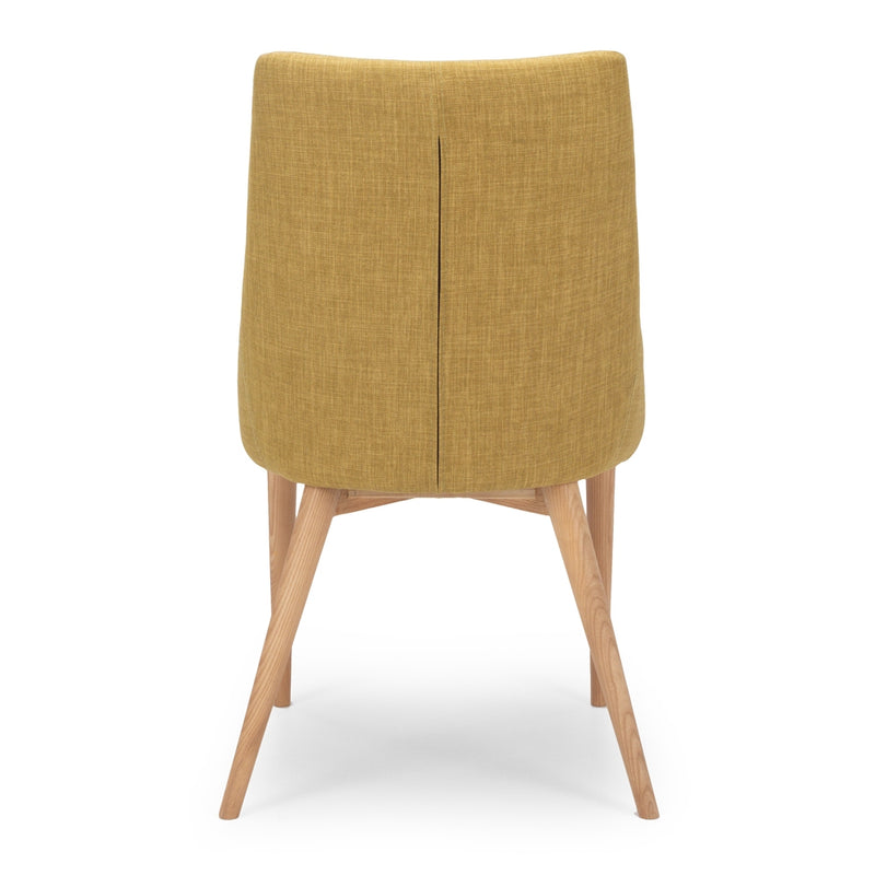 Eva Dining Chair - Jewelled Yellow *PREORDER* - Furniture and Homewares Upper Hutt